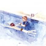 الأطفال والسباحة
