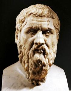Bust of <Plato>