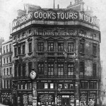 Cooks head office in Ludgate Circus 1873