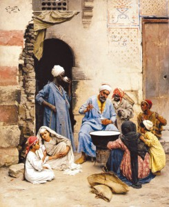 Ludwig_Deutsch_-_The_Sahleb_Vendor_Cairo,_1886