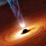 ثقب أسود يلتهم غمامة فضائية