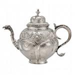 dutch-silver-tea-pot-antique-eagle-spout