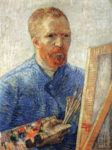 Van-Gogh-self-portrait-as-an-artist-1888