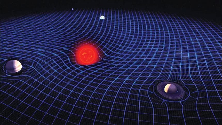 موجات في نسيج الكون