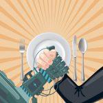 مطاعم المستقبل خدمة بلمسة غير شخصية