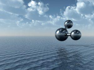 ماذا جزيء الماء مستقيماً؟ h2o-300x225.jpg